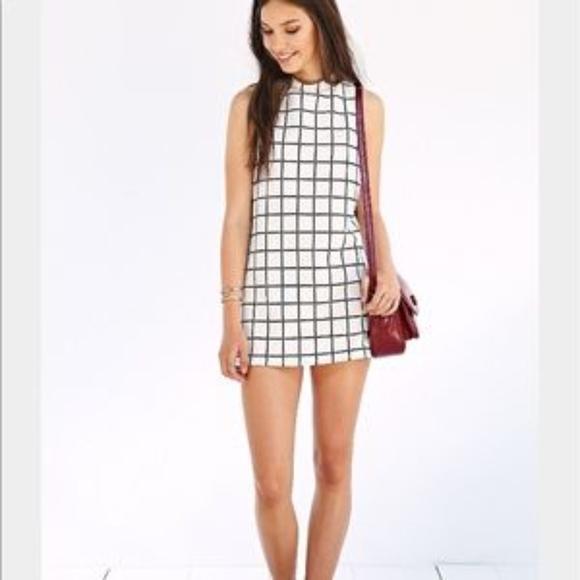 038e1bbfe34b Urban Outfitters Dresses | Uo Cooperative White Ivory Mockneck Tunic ...